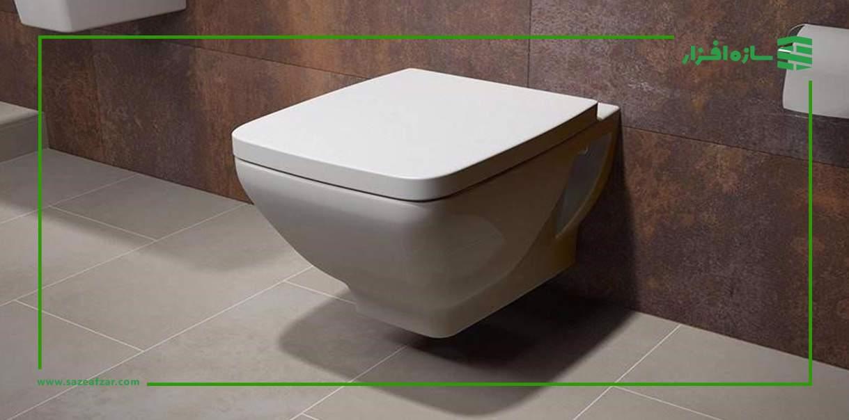 توالت دبواری