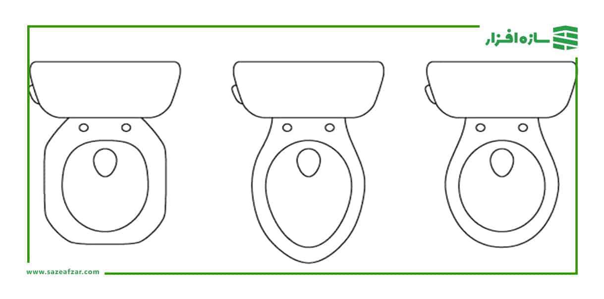 شکل توالت